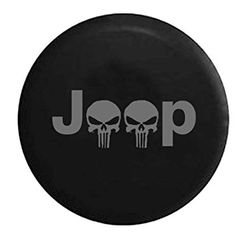 35 In American Unlimited Gear Black Denim Top Quality Blank RV Jeep Spare Tire Cover Dealer Grade