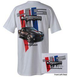 Chevy Camaro 45th Anniversary t-shirt
