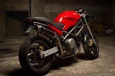 Ducati Monster 620 cafe racer