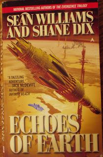 Books and Quilts: Echoes of Earth by Sean Williams & Shane Dix
