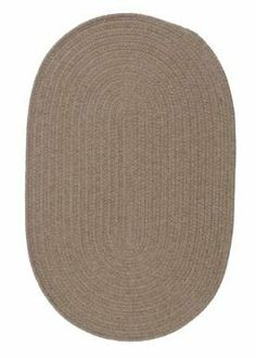 Colonial Mills WL45 Solid Wool Blend Mocha Rug Rug Size: Oval 11' x 14' by Colonial Mills. $978.40. Colonial Mills WL45 Solid wool-blend yarns are both durable and soft, making this collection perfect for almost any room in the house. Reversible for twice the wear. Made in the USA. Features: -Construction: Handmade. -Technique: Braided / Flat Woven. -Material: 35% Wool and 65% Polyester. -Origin: United States. -Collection: Solid Wool Blend. -Perfect for kids rooms, play ar...