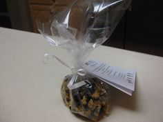 """""""Happy Trails"""" trail mix. This is a treat I make that my family loves. I gave it this name to make it work for end of the school year teacher/bus driver gifts. It's Cascadian Farms organic Oats and Honey granola cereal, dried cranberries, raisins, and Enjoy Life semi-sweet mini chocolate chips. What's especially great? Allergen free for us! No dairy, wheat, egg, peanuts, tree nuts, or blueberries. Yipee!"""