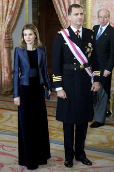 Princess Letizia - Spanish Royals Celebrate New Year's Military Parade 2012