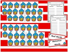 Dr. Suess Read the Room activity freebie