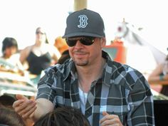 I just want one of his 5 billion Sox hats... is that too much to ask? :)