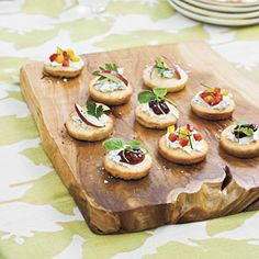 Cornbread Crostini   MyRecipes.com