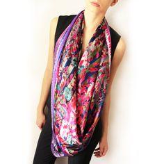 Gorgeous Pink 3D silk scarf Scarves, 3d, Silk, Dresses, Fashion, Fashion Ideas, Scarfs, Gowns, Moda
