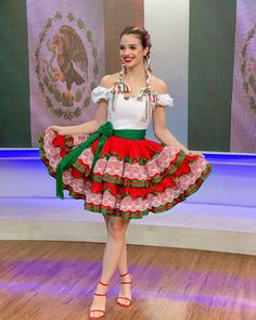 """Ana Ceci on Instagram: """"#mexicana #vivamexico 🇲🇽"""" Kahlo Paintings, Harajuku, Ballet Skirt, Instagram, Traditional, Summer Dresses, Sexy, Floral, Skirts"""