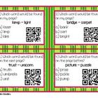 This set includes the following:  *Instructions *24 Guide Words QR Code Cards in color and in black & white *The same 24 Guide Word Task Cards ...