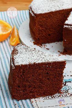 Chocolate Orange Cake, no eggs, no milk Sweet Recipes, Cake Recipes, Dessert Recipes, Vegan Cake, Vegan Desserts, Cake Chocolat, Torte Cake, Sweet Cakes, Cake Cookies