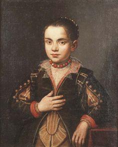 Portrait of a Girl, circle of Giovanni Battista Moroni