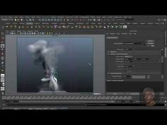 Maya 3D - Dynamic - Fluid Effect - Smoke Effect - YouTube