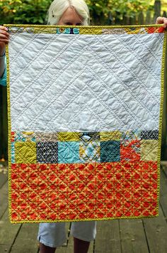 Great quilt back that would work for a nice front