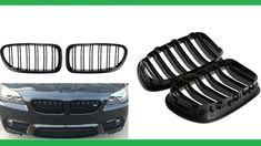 Grill Grille Gloss Black Kidney Sport for BMW F10 F18 F02 F11 M5 10-15 D...
