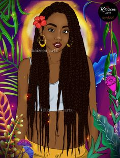Home - Kaizeea Artz- A Daydreamer that creates from Love, Soul and the Guided Spirits. Black Characters, Spiritual Encouragement, Art Corner, Afro Art, Black Pride, Black Man, Creepers, Braid Styles, Black Is Beautiful