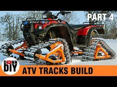 Homemade ATV Tracks Build - Part 4 - YouTube