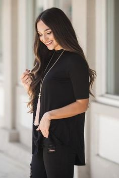 Timeless Style Top in Black