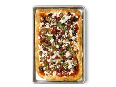 Middle Eastern Pizza