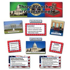 Three Branches of Government - American Gov - FREE Presentations ...