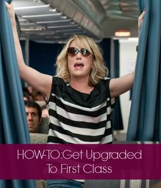 Get up to first class without a Bridesmaids moment!