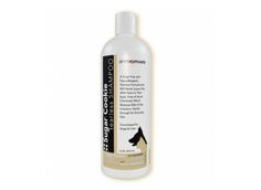 A great everyday shampoo.A sweet-tempered shampoo ideal for grooming – free of harsh chemicals and helps reduce eye irritation. With the lovable aroma of Sugar Cookies, this shampoo will never leave pets with tears in their eyes.  Soap-free, hypoallergenic formula that will never leave pets with tears in their eyes Free of harsh chemicals; an ideal cleansing