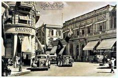 Egypt - Alexandria , 1930 الاسكندريه.. شارع فؤاد الثلاثينات