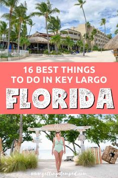 16 top things to do in Key Largo, Florida. Home to the diving capital of the world, you'll find endless amounts of underwater activities and outdoor advent Visit Florida, Florida Vacation, Florida Travel, Florida Keys, Florida Beaches, Travel Usa, Mexico Travel, Spain Travel, Travel Diys