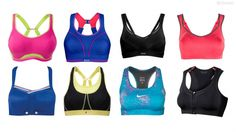 Find the best sports bra for cycling.