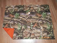 Realtree Hardwoods Baby Camo Blanket by HightechHillbilly, $12.00