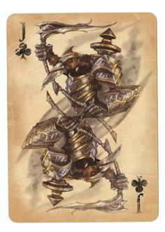 Fable Cards: Jack of Clubs by Frostbite-Melody.deviantart.com on @deviantART