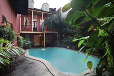 5) Olivier House Hotel, 828 Toulouse St., New Orleans