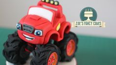 Blaze Monster Machines cake topper