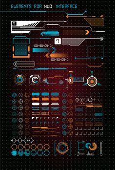 HUD UI for business app. on Behance - - HUD UI for business app. on Behance HUD UI for business app. on Behance HUD UI for business app. on Behance Identity Design, Interaktives Design, Design Food, Game Ui Design, Gui Interface, User Interface Design, Futuristic Technology, Futuristic Design, Technology Gadgets