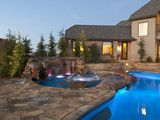 Disappearing Spa - eclectic - pool - oklahoma city - by CAVINESS LANDSCAPE DESIGN, INC.