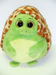 Ty Beanie Ballz Stuffed Plush Zoom The Turtle 5in