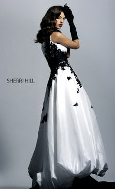 Black and White Prom Dresses