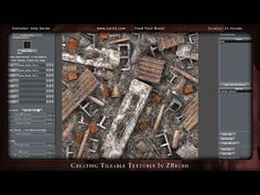 ▶ Creating Tileable Textures in ZBrush - YouTube