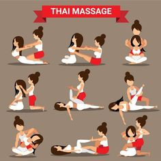 Massage And Healthcare Infographics Royalty Free Vector- benjamin delmas Massage Tips, Thai Yoga Massage, Massage Benefits, Good Massage, Massage Therapy, Technique Massage, Acupressure Treatment, Reflexology Massage, Back Pain