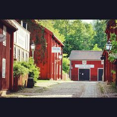 The old town in Linköping is called Gamla Linköping, Sweden
