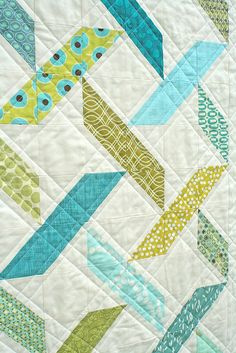 Diamond Tread quilt by freshlypieced, via Flickr