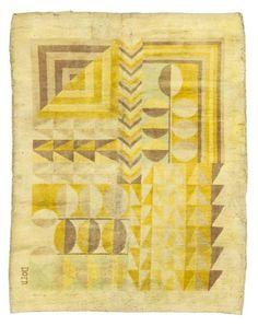 Marion Dorn; Wool Rug, c1930.