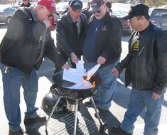NY Gun Owners Torch State Gun Registration Forms in Protest