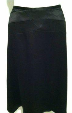 Banana Republic 100% Silk Long Art Deco Skirt Lined Sz 2   eBay
