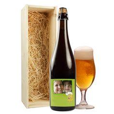 Peelander Dubbel & Trippel met jouw foto op de fles.