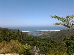 Looking down over Nature's Valley on the Garden Route, South Africa South Africa, African, River, Mountains, Awesome, Places, Garden, Nature, Southern