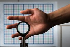 The device cloaks objects without background disturbance (Picture: J. Adam Fenster/University of Rochester)