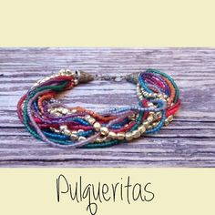 Multicolor brazelet by Pulqueritas. Contact: www.facebook.com/pulqueritas or pulqueritas@gmail.com Visit us on Facebook and Instagram!!