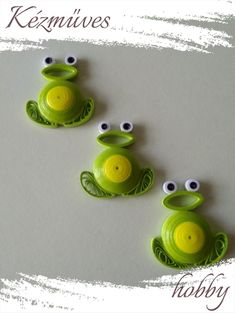 Paper Quilling Cards, Minion, Yoshi, Minions