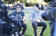 Calum and Michael