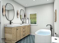 Kohler Bathroom, Pool Bathroom, Budget Bathroom, Small Bathroom, Digital Showers, Open Showers, Vanity Design, Classic Bathroom, Shower Panels